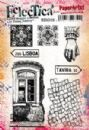Eclectica³ Rubber Stamp Sheet by Emma Godfrey 26 (on EZ Mount)